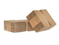Pakavimo dėžės iš 3 sluoksnių gofruoto kartono