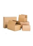 Pakavimo dėžės iš 3 sluoksnių gofruoto kartono 390x290x250mm (B banga)