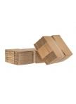 Pakavimo dėžės iš 5 sluoksnių gofruoto kartono 256x184x167mm (BE banga)