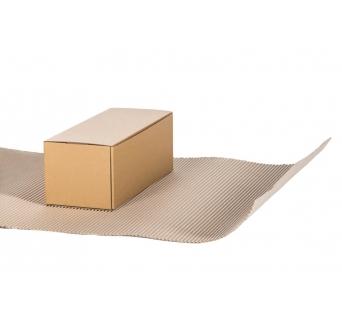 Gofruotas kartonas rulone