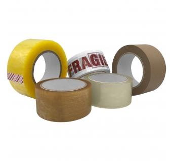 "Lipni juosta 50mm x 50m popierinė ""Kraft"" lipni juosta, ruda spalva"